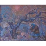 Старуха и дерево