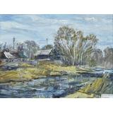 Банный пруд города Покровска-Энгельса